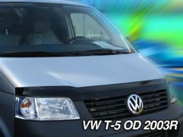 windabweiser motorhaube volkswagen t5 transporter 2003 ebay. Black Bedroom Furniture Sets. Home Design Ideas