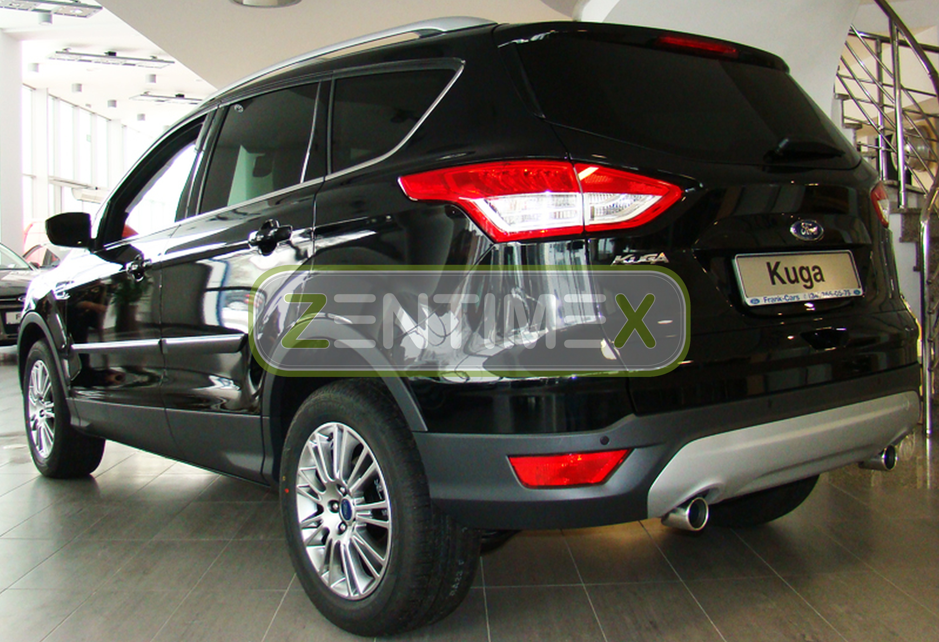 schutzleisten f r ford kuga 2 2013 5 t rer ebay. Black Bedroom Furniture Sets. Home Design Ideas