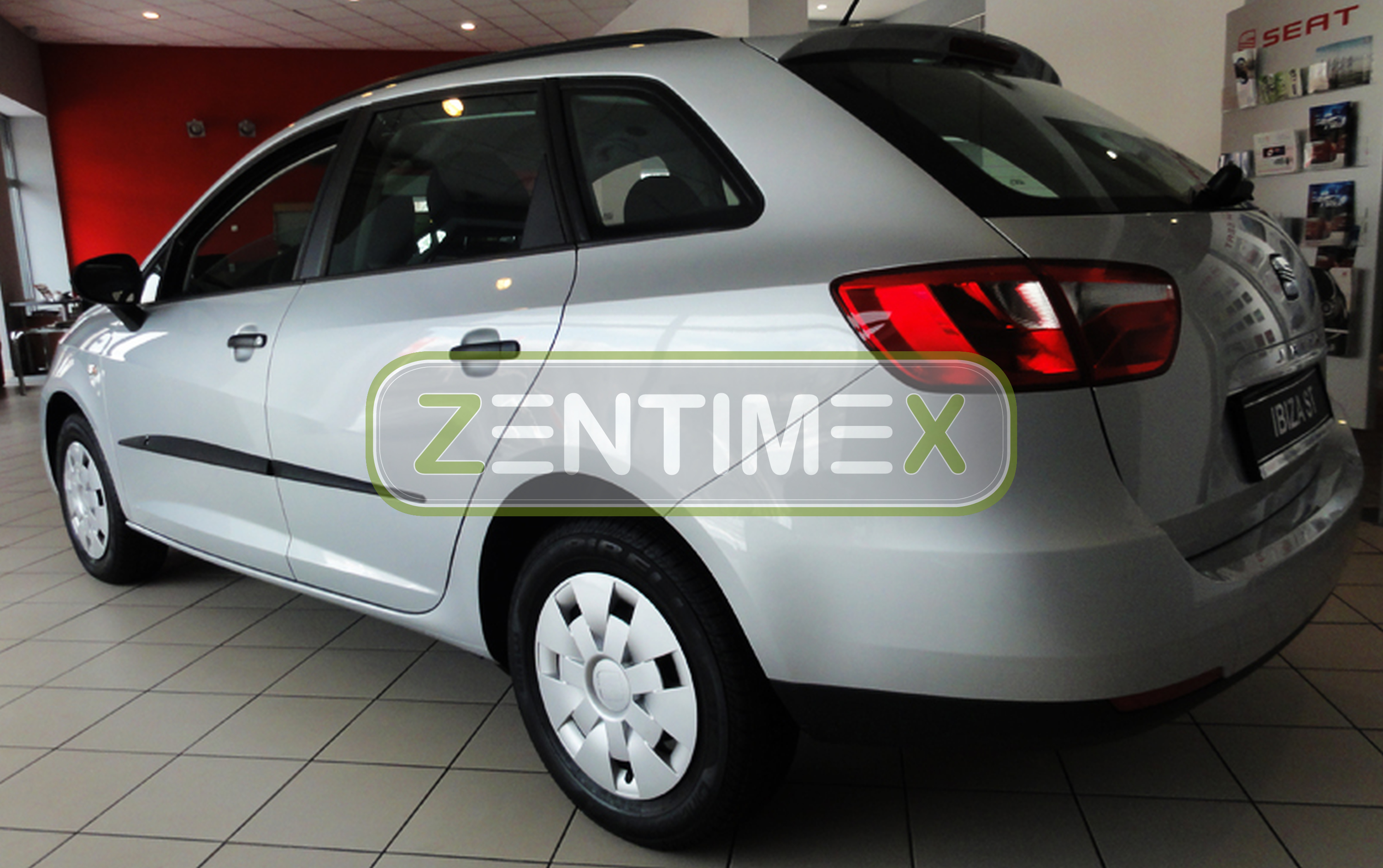 schutzleisten f r seat ibiza st 4 6j facelift 2012 kombi 5 t rer ebay. Black Bedroom Furniture Sets. Home Design Ideas