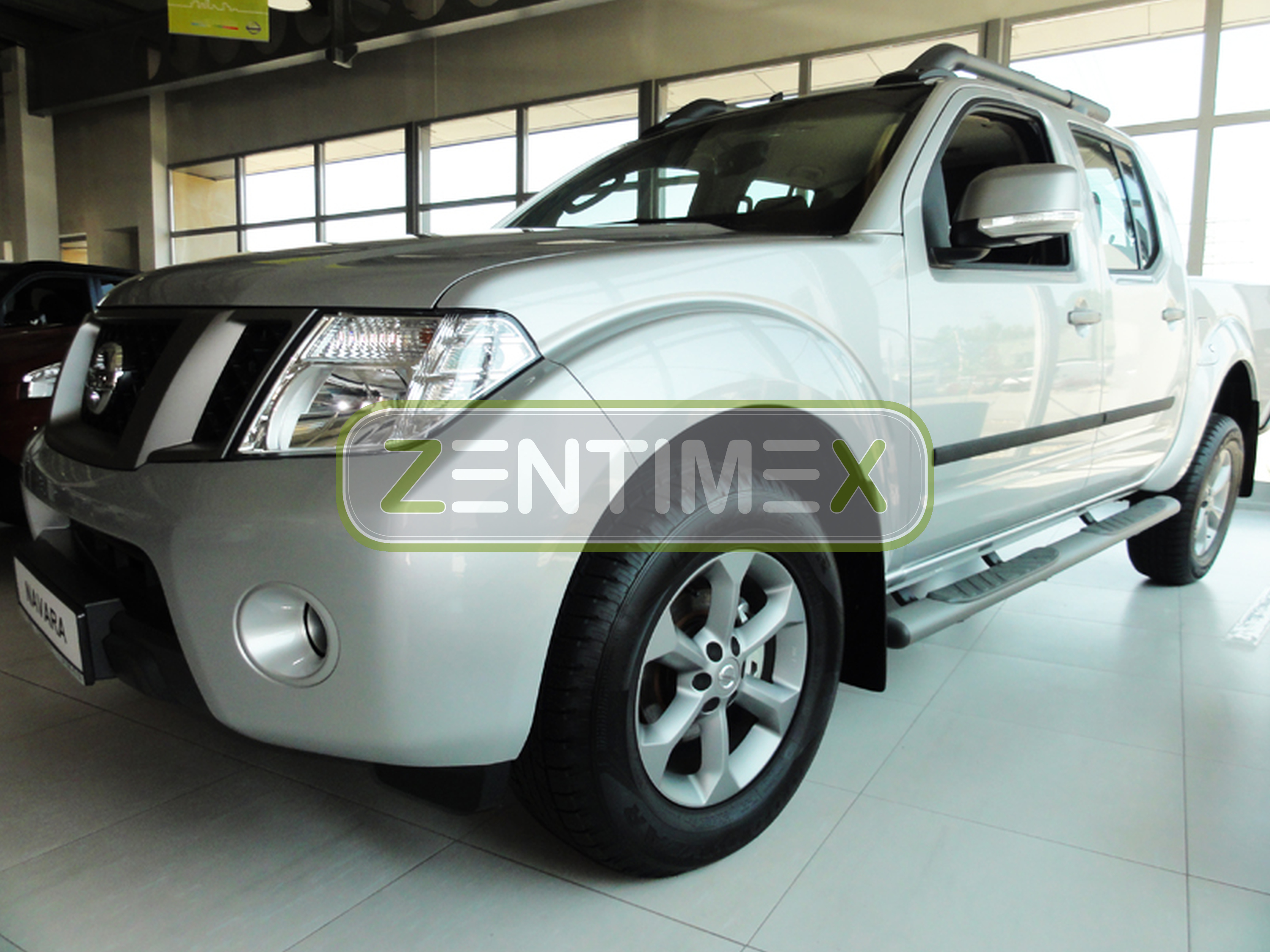 schutzleisten f r nissan navara 3 d40 2005 ebay. Black Bedroom Furniture Sets. Home Design Ideas