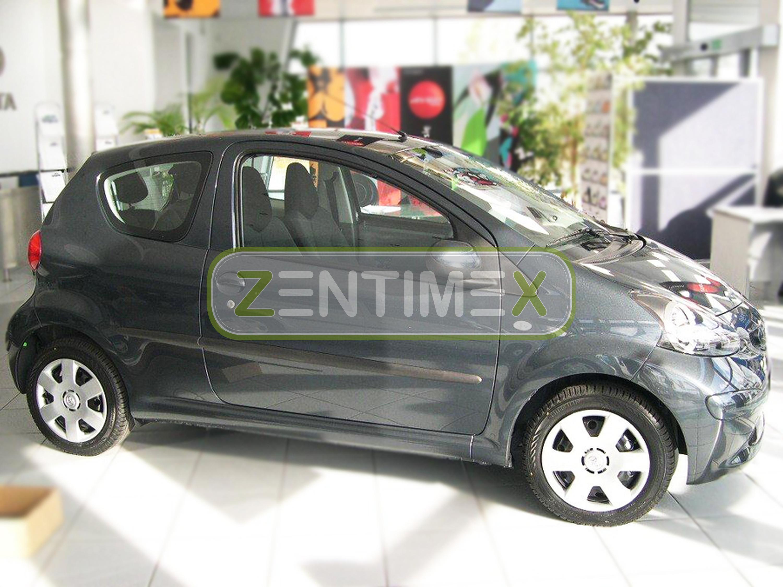 Schutzleisten für Toyota Aygo 5D Baujahr 2005 bis 2011
