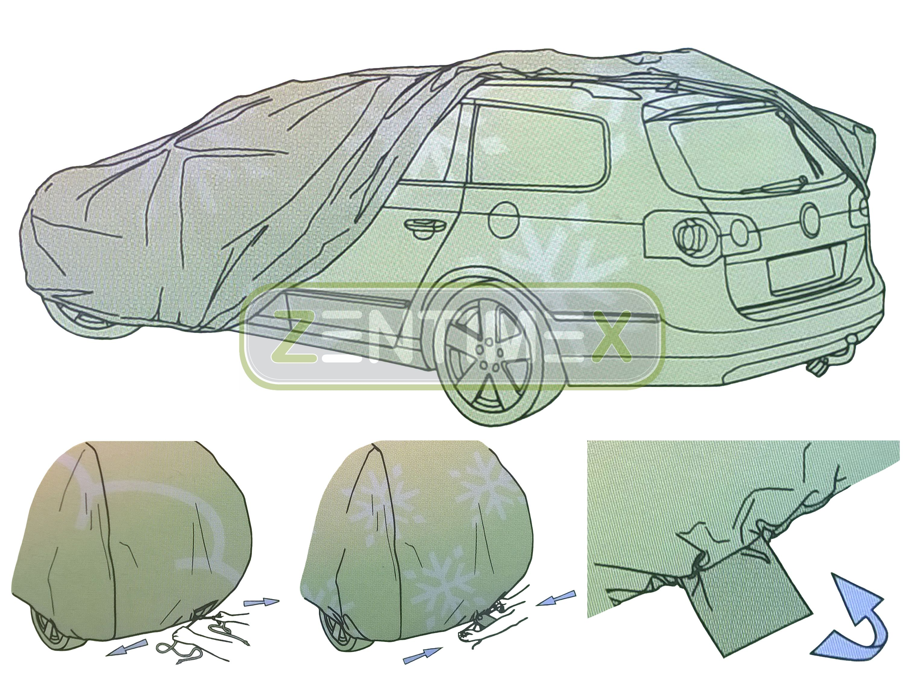 ohne Aufbauten, offene Ladefläche Vollgarage für Ford Ranger ER EQ Pick-Up 04.