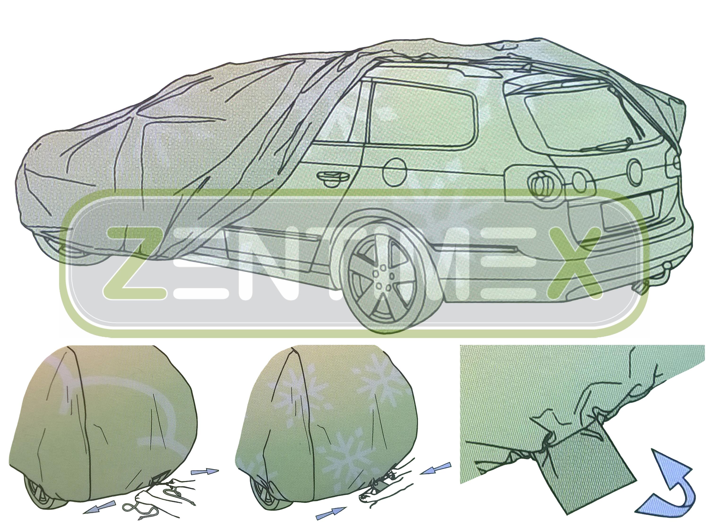 Copriauto per Opel Astra GTC H Hatchback 3-porte 03.05
