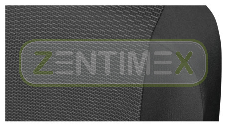 Stoff schwarz Sitzbezüge Schonbezüge SET AA Opel Movano B 2010