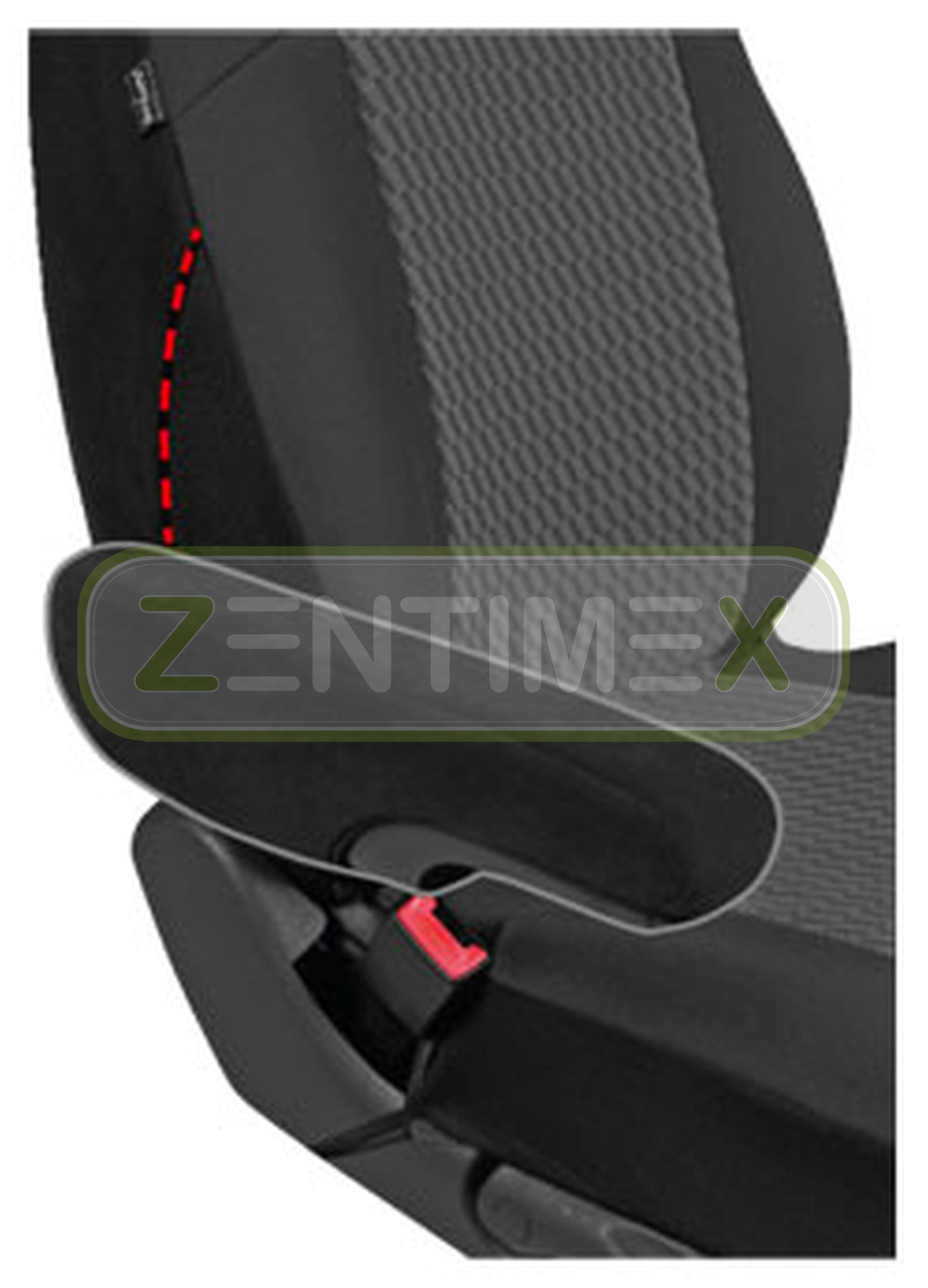 Sitzbezüge Schonbezüge SET ADD VW T5 Transporter Stoff schwarz