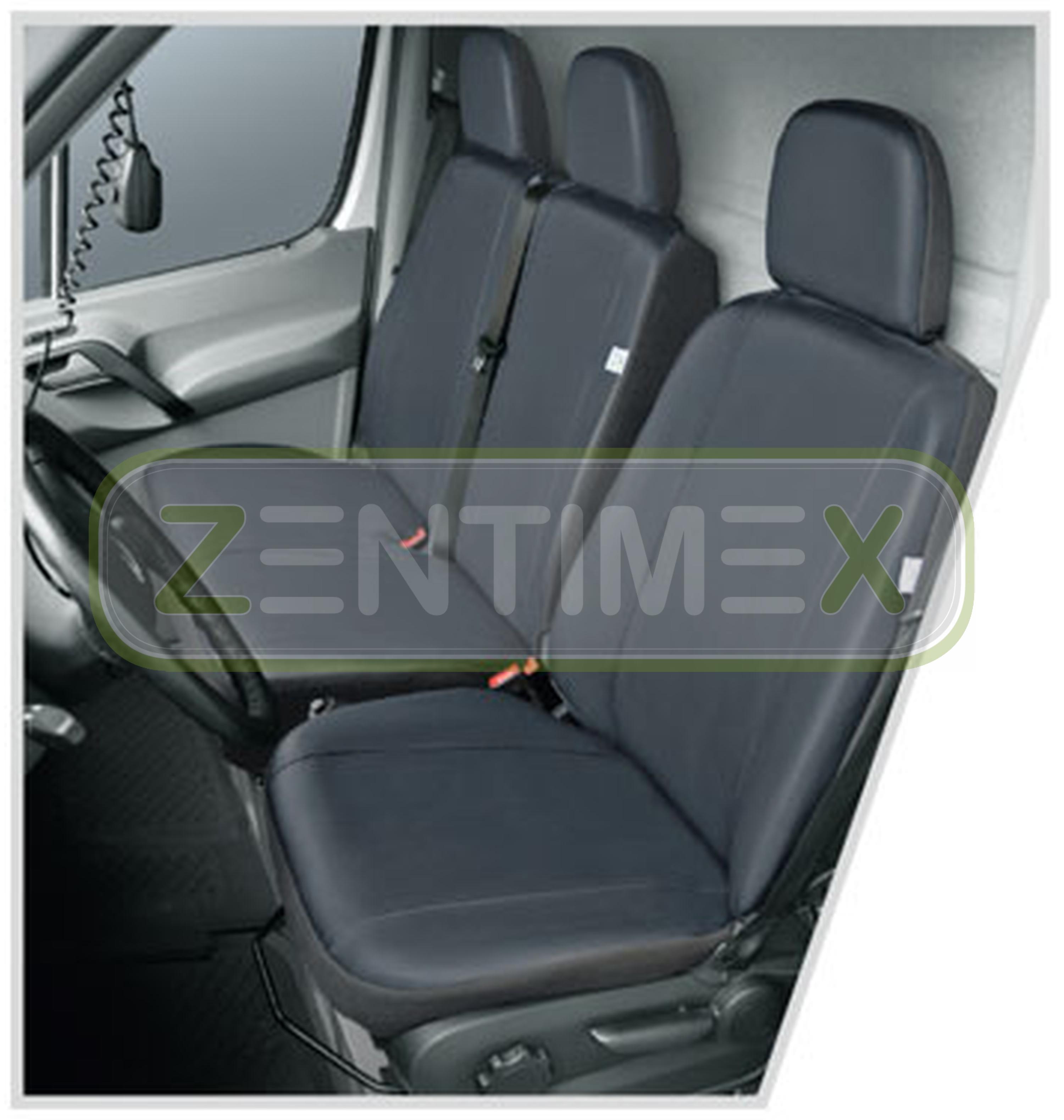 Sitzbezüge Schonbezüge SET GA Mercedes Sprinter Kunstleder grau