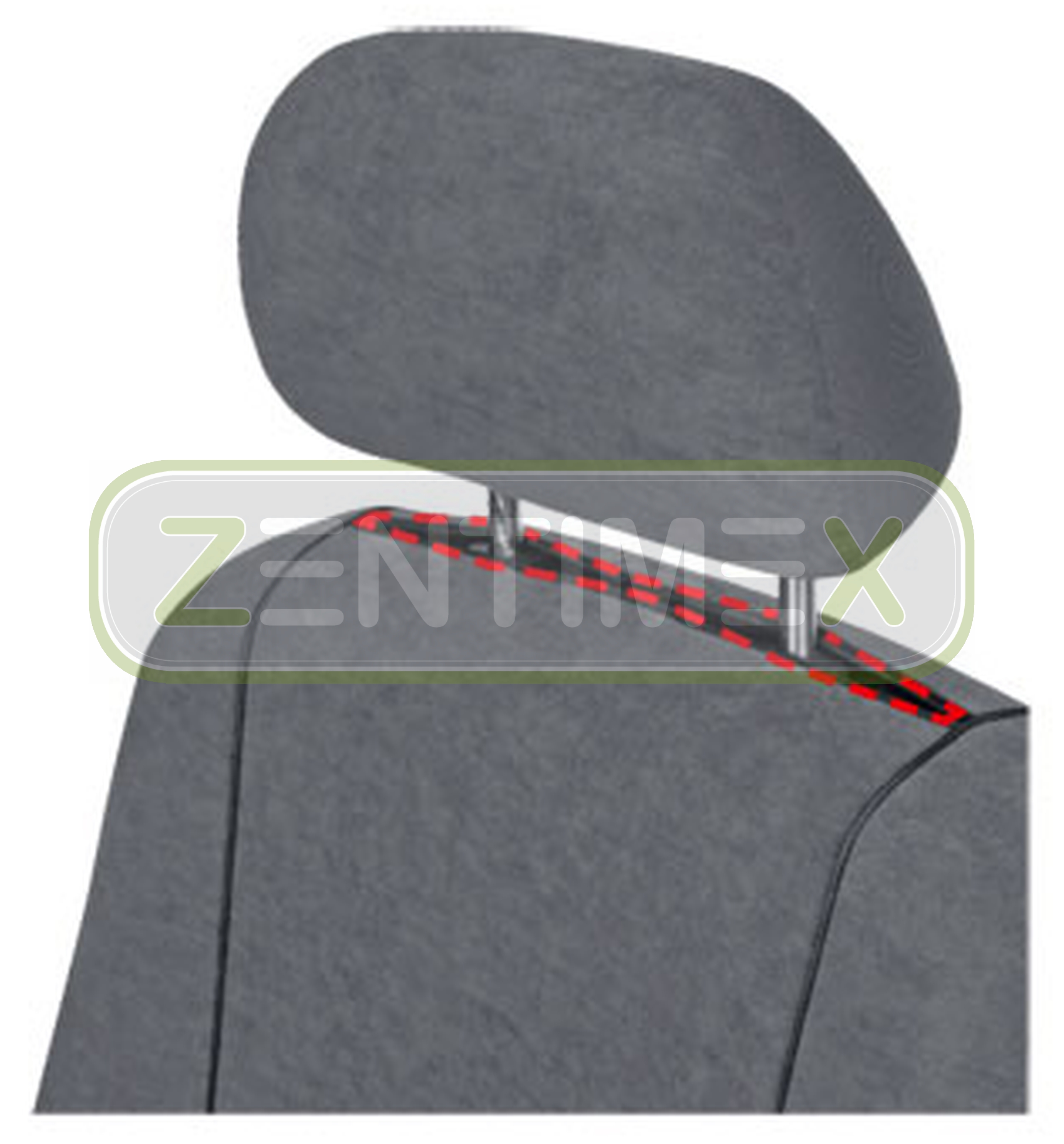 Fundas para asientos ya referencias set subîr hyundai h-1 h1 tela gris oscuro