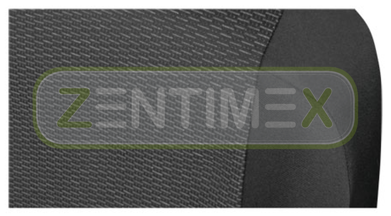 Sitzbezüge Schonbezüge SET AD VW T5 Transporter Stoff schwarz