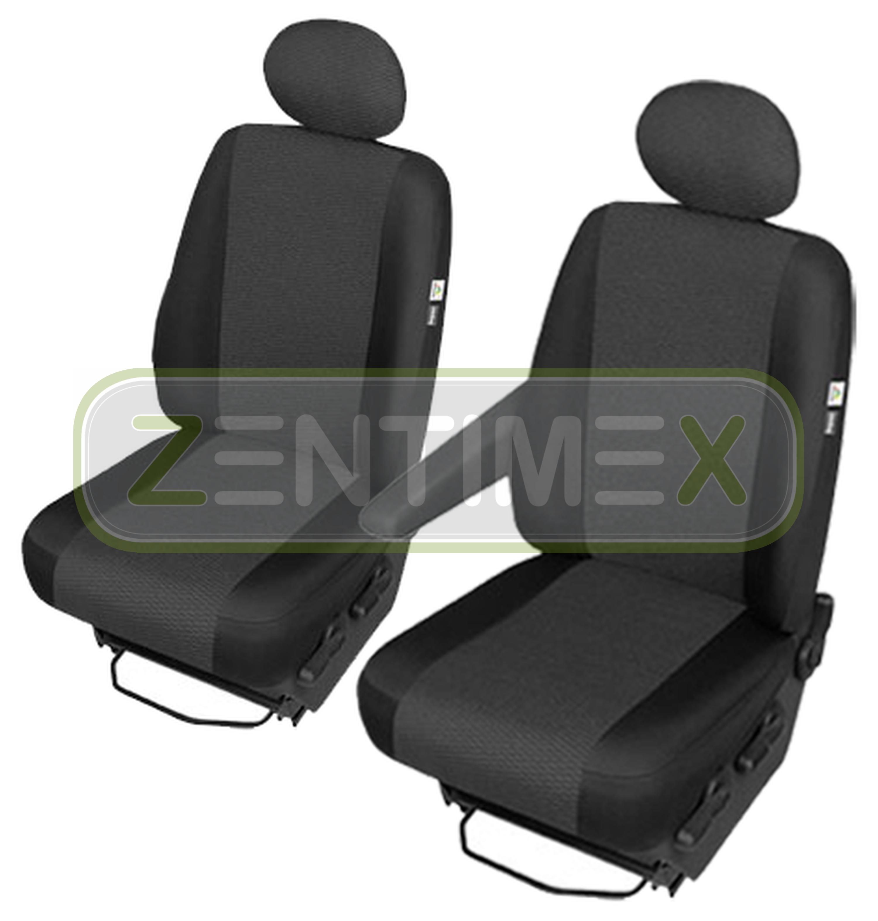 Sitzbezüge Housses De Protection Set AE pour vw t4 Transporteur en tissu noir