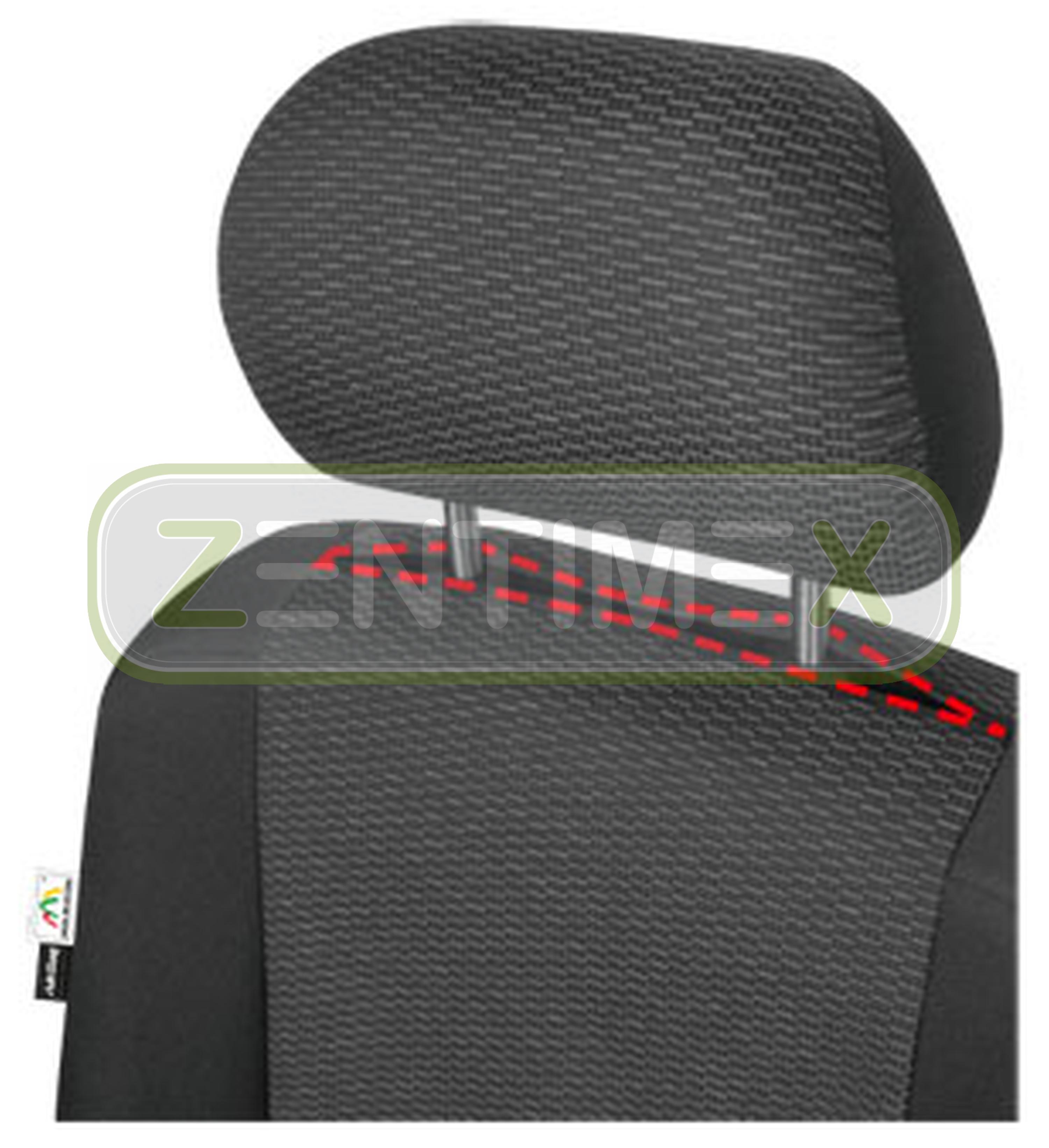 Sitzbezüge Schonbezüge SET AE VW T5 Caravelle Stoff schwarz