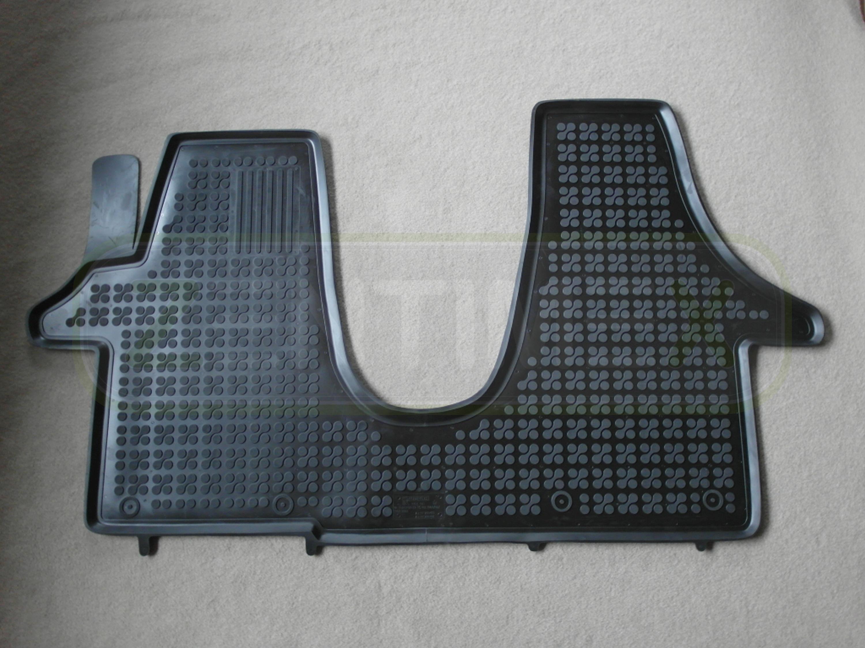schwarz Schalenmatten 34 Gummifußmatten für VW Volkswagen T5 Transporter 2003