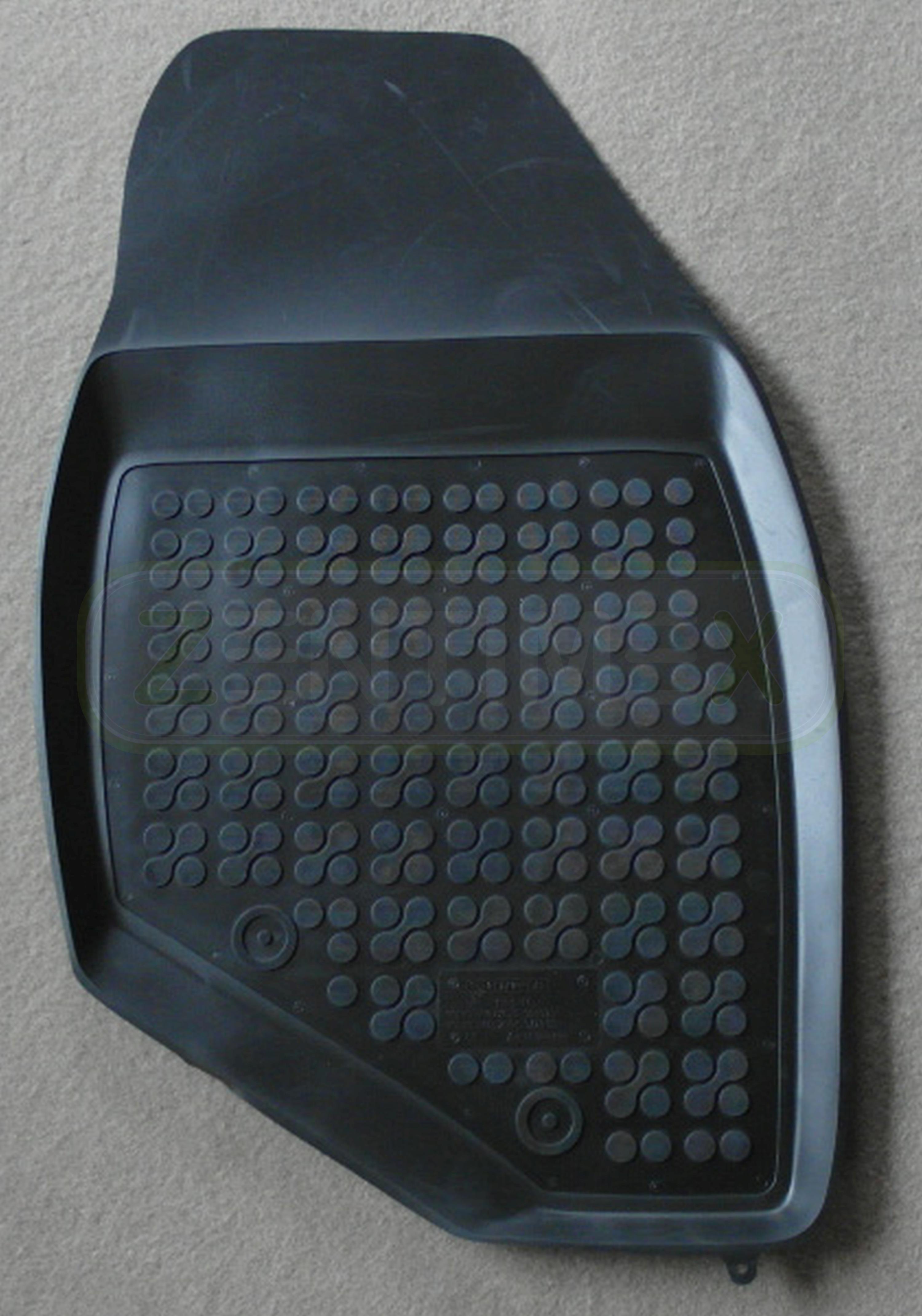 Gummifußmatten für Volvo V70 2 P26 Kombi 5-türer 2000-2007 schwarz Schalenmatten