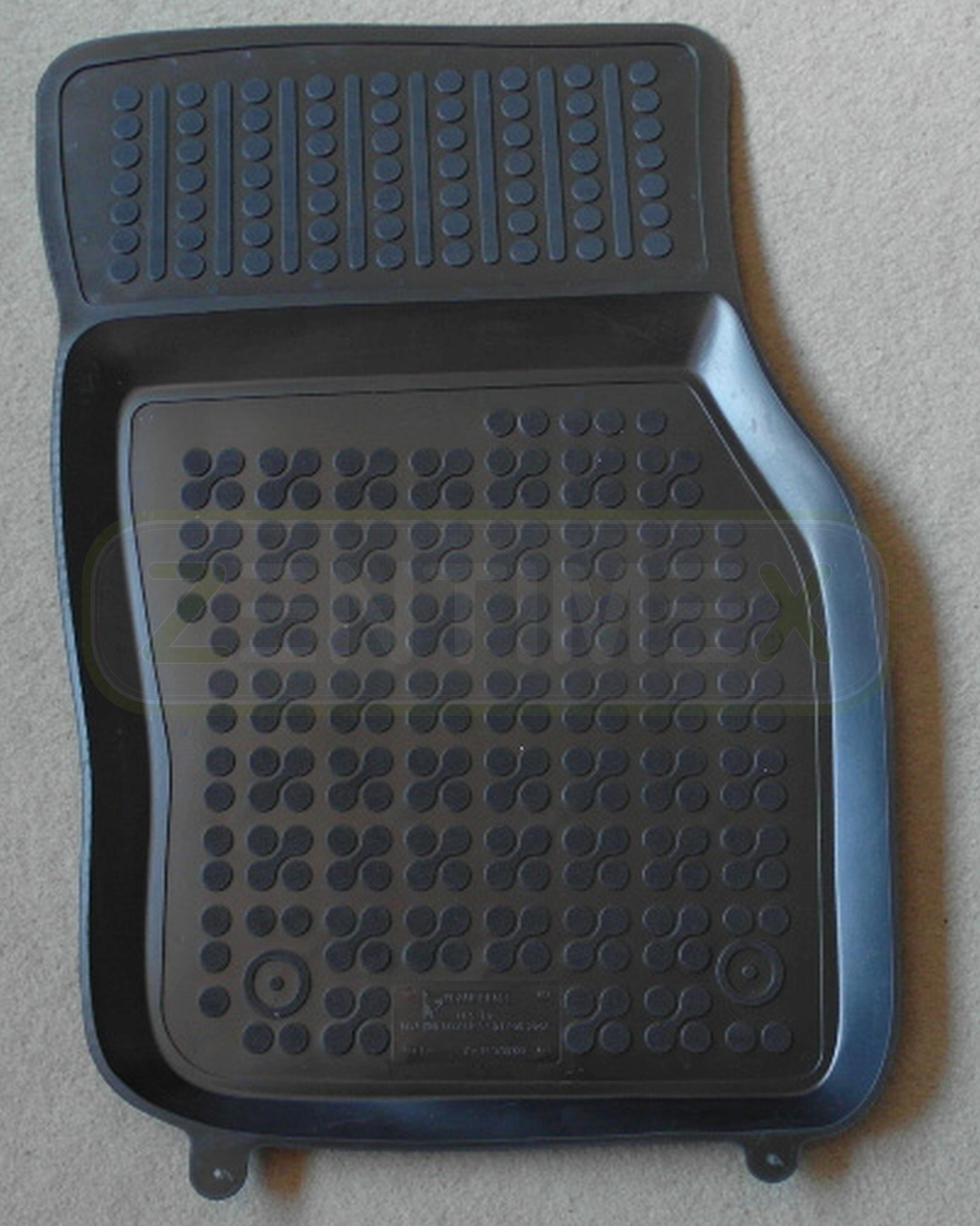 schwarz Schalenmatten Gummifußmatten für Mini Cooper S 5-türer 2014