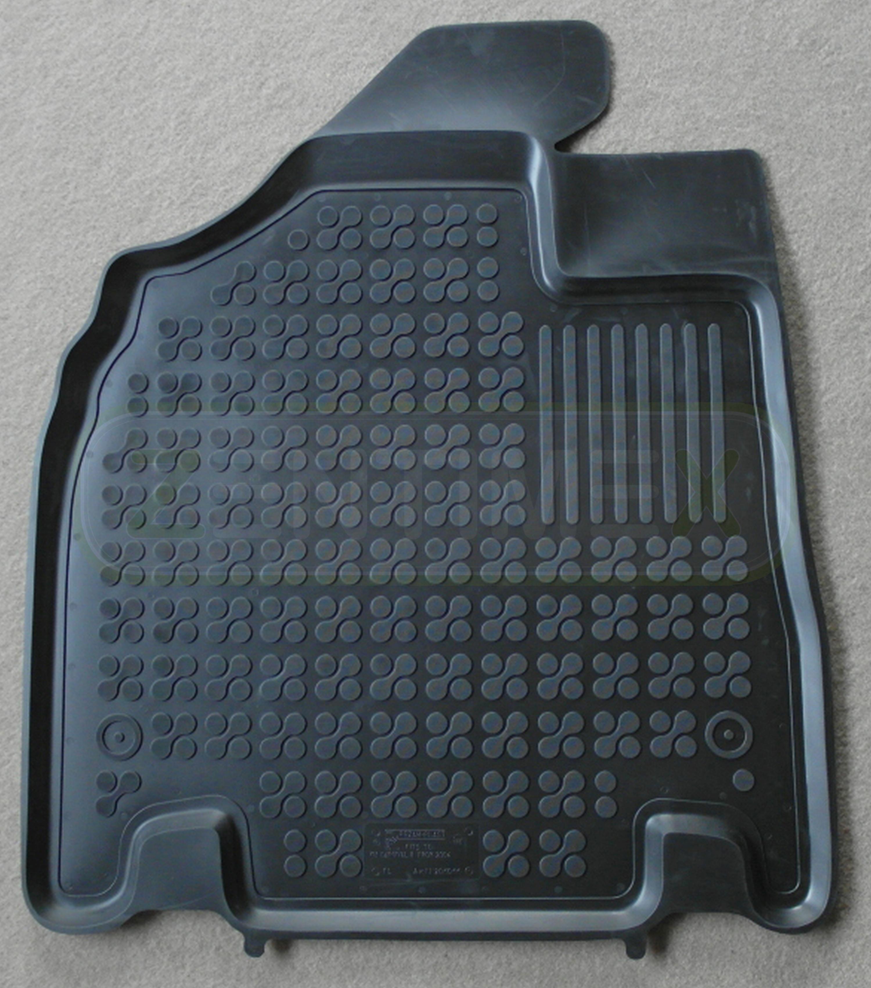 robuster Fahrerhausteppich Fußmatte für Fiat Ducato 250 Baujahr 2006-2019