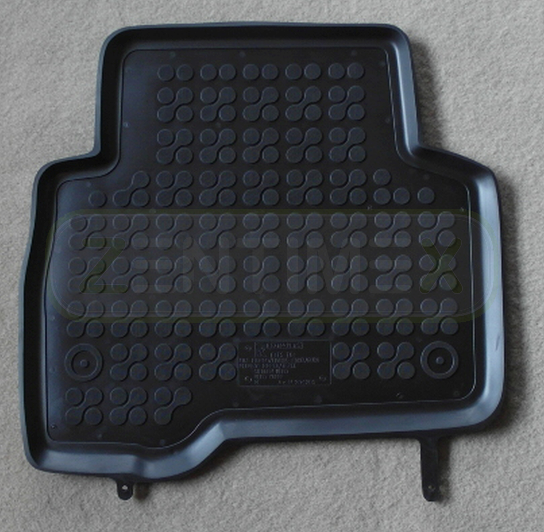 Gummifußmatten für Fiat Fiorino Typ 225 Hochdachkombi 2008 schwarz Schalenmatte