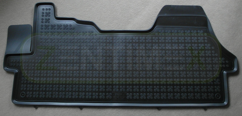 schwarz Schalenmatten Gummifußmatten für Fiat Ducato 3 Typ 250 Bus 2006
