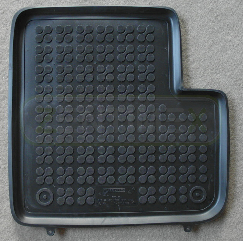 Gummifußmatten für Fiat Punto Grande 3 Typ 199 2005-3-türer 4tlg