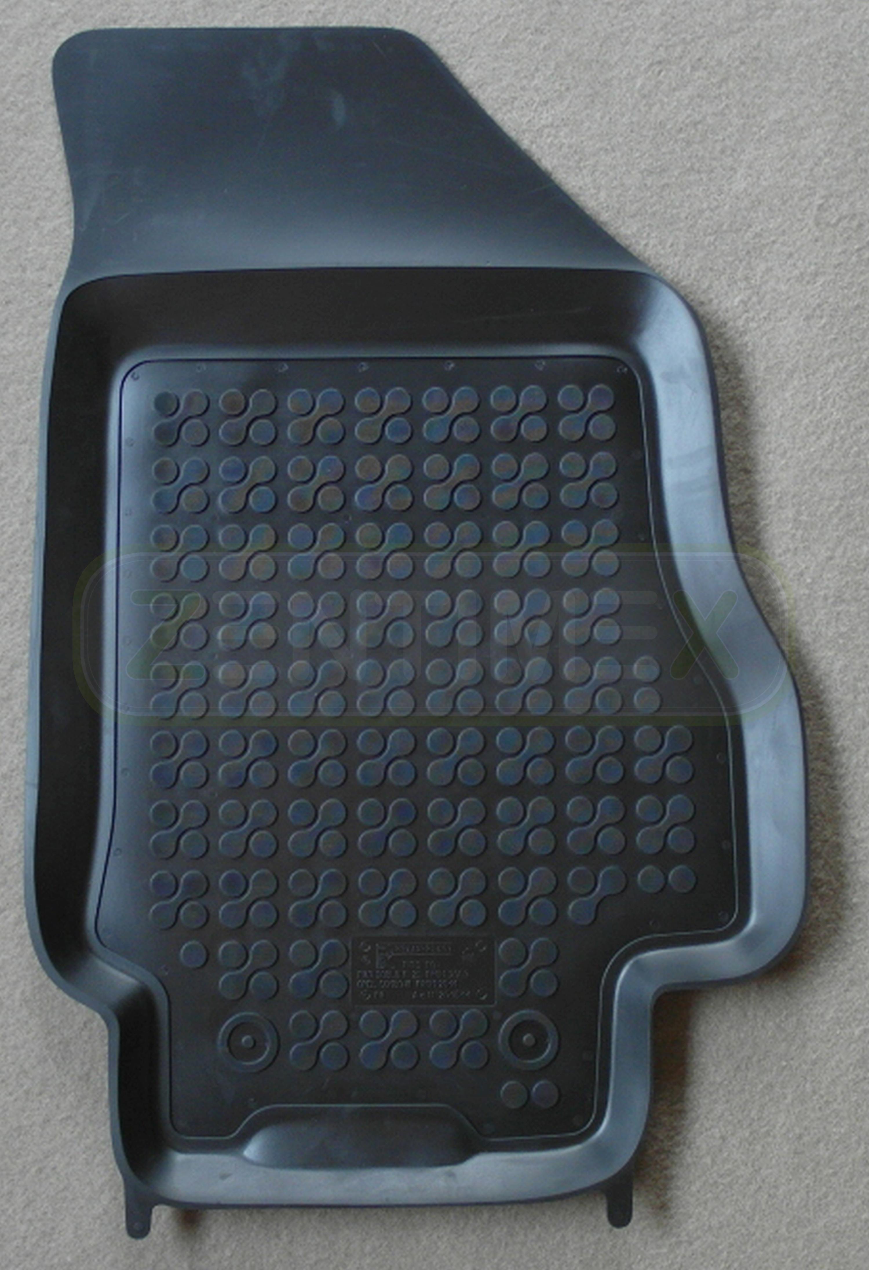 gummifu matten f r opel combo d kastenwagen 2011 2 sitzer. Black Bedroom Furniture Sets. Home Design Ideas