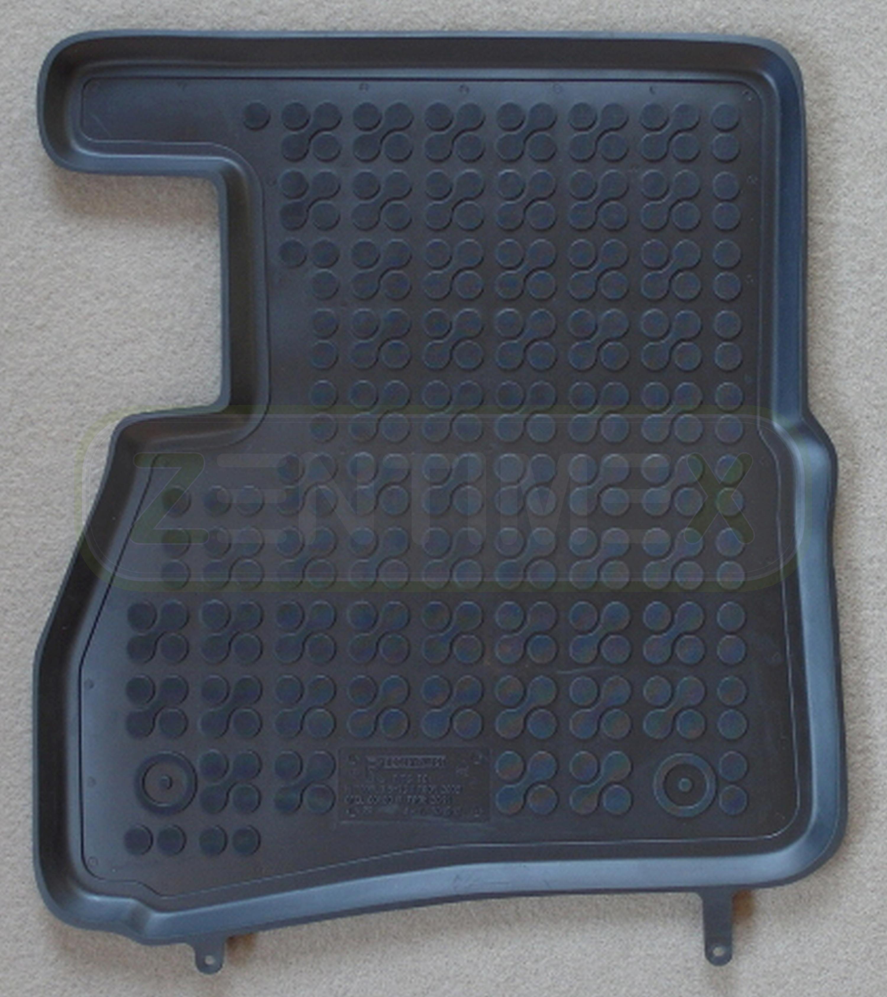 Gummifußmatten für Fiat Doblo Cargo 1 Typ 223 Facelift Transporter 2005-2010 sch