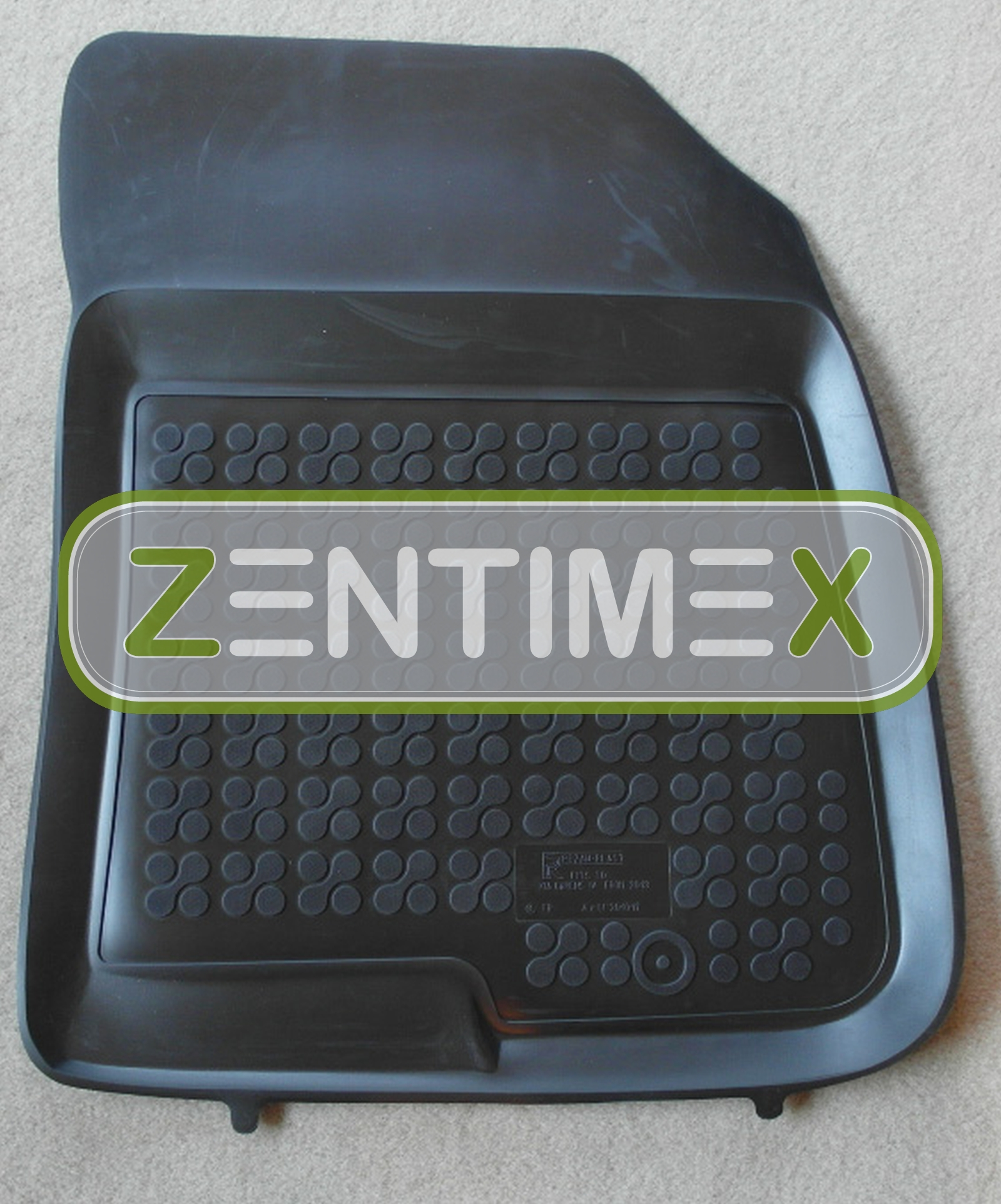 gummifu matten f r kia carens 4 rp van kombi 5 t rer 2013 schwarz schalenmatten ebay. Black Bedroom Furniture Sets. Home Design Ideas