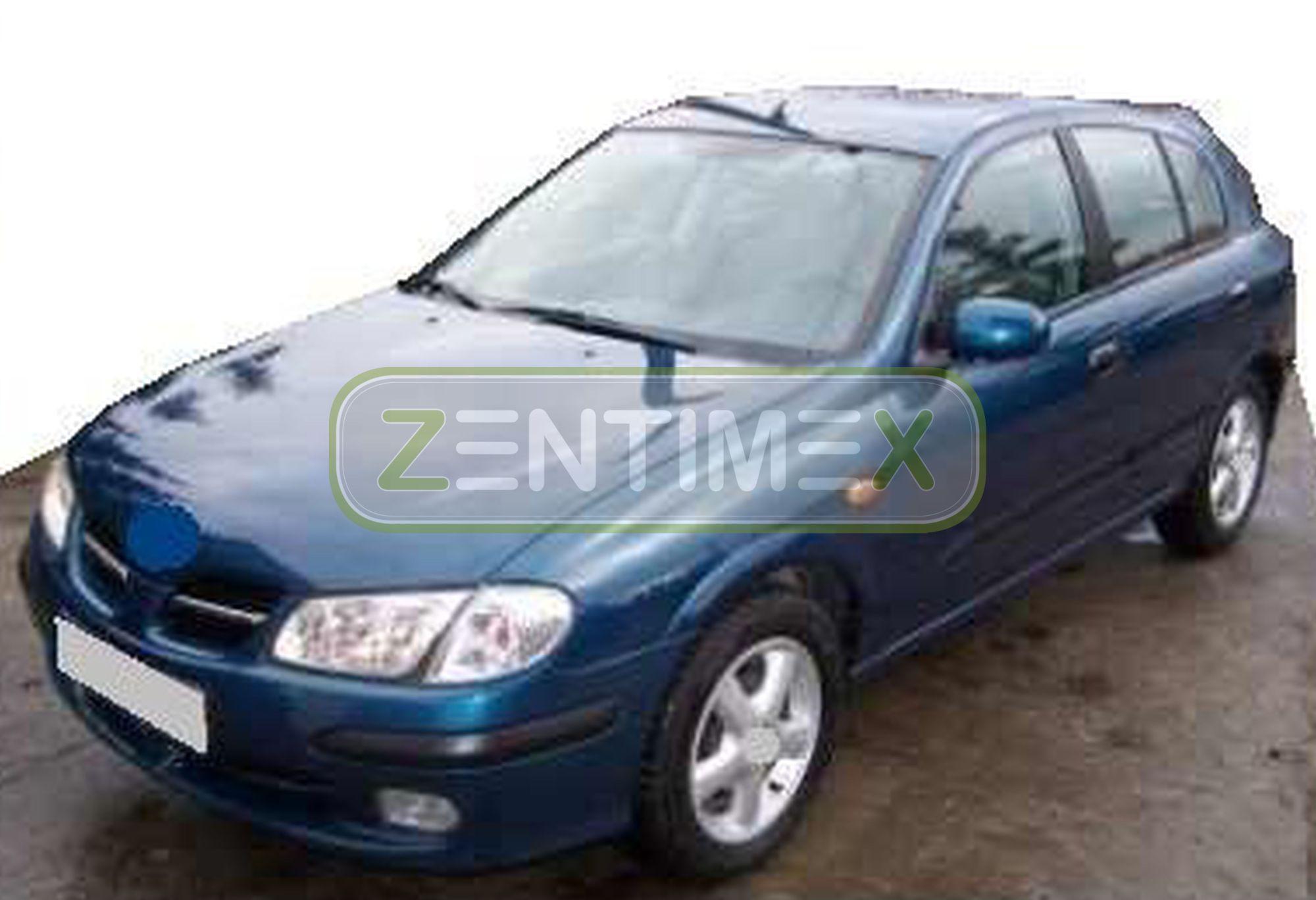 Boot Mat Trunk Liner Nissan Almera N16 hatchback 3-doors 2000-2006 ...