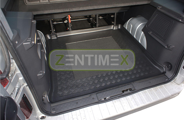 Kofferraumwanne für Opel Vivaro Tour B Kleinbus Kombi 2014 hinter Langversion