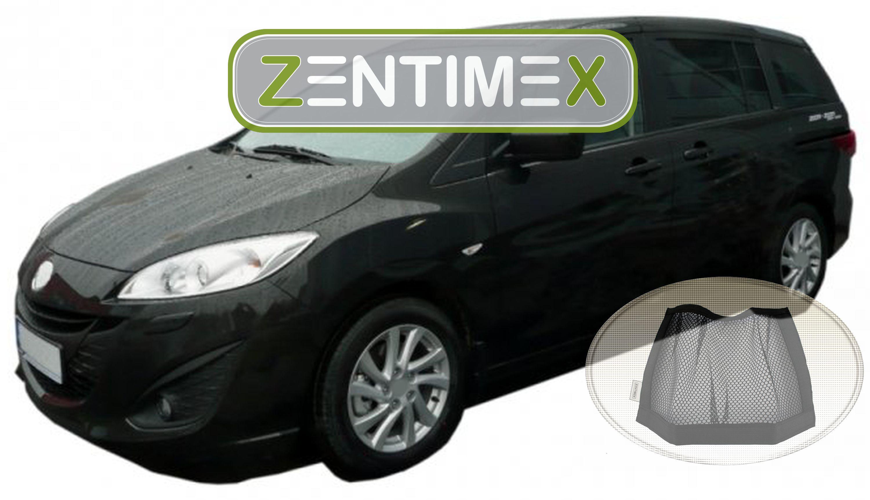Z333659 Gerippte Kofferraumwanne Klett-Netz für Mazda 5 Mazda5 CW Vor-Facelift