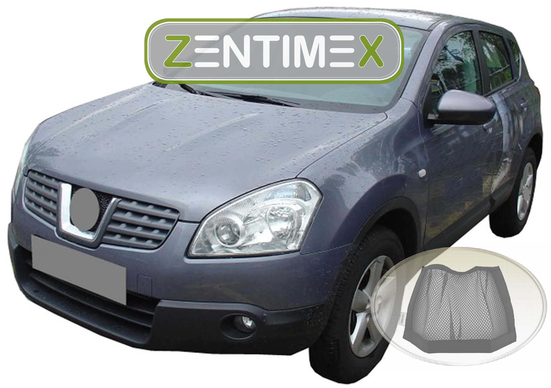 Z333920 Gerippte Kofferraumwanne Klett-Netz für Nissan Qashqai 1 J10 Steilheck
