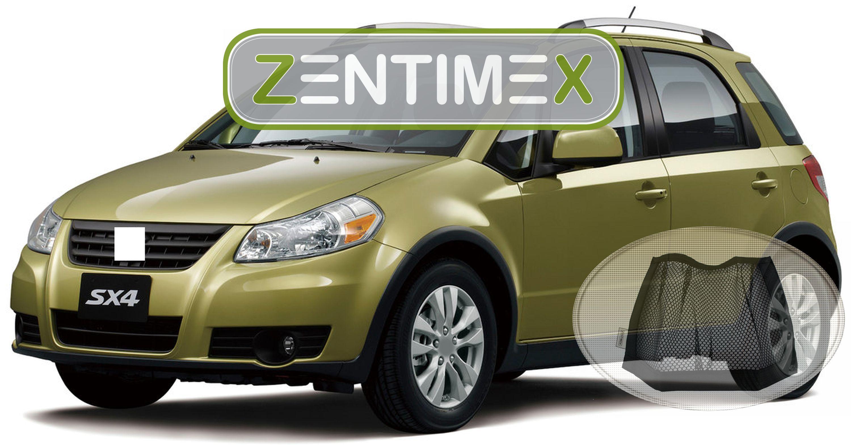 Z334550 Gerippte Kofferraumwanne Klett-Netz für Suzuki SX4 S-Cross Comfort 2