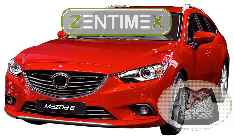 Z333667 con aletas tapiz bañera velcro-red para mazda 6 Mazda 6 Sport combi spo