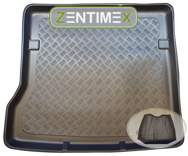 Z333192 Gerippte Kofferraumwanne Klett-Netz für Dacia Duster Prestige Steilhec
