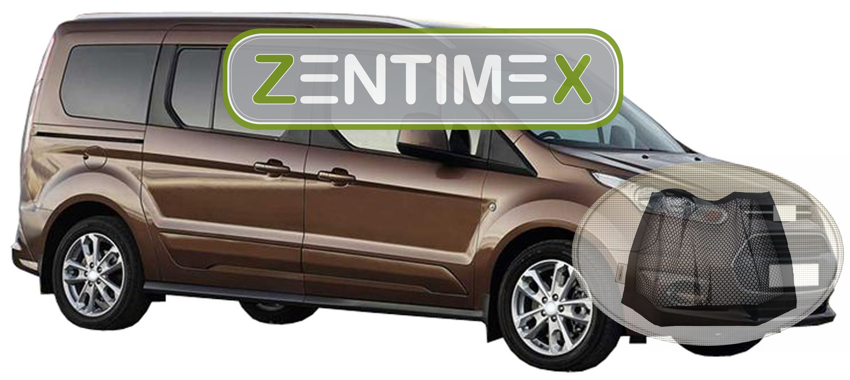 Klett-Netz für Ford Grand Tourneo Connect Tit Z333362 Gerippte Kofferraumwanne