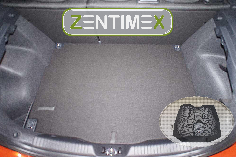 Z332633 Gerippte Kofferraumwanne Klett-Netz für Kia Cee/'d Ceed 2 JD Schrägheck
