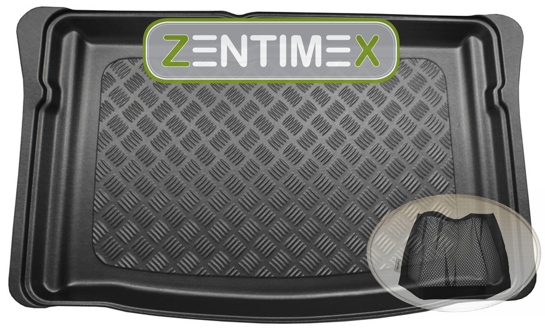 Z334391 polsini TAPPETINO VASCA velcro-rete per SEAT Mii CHIC posteriore acciaio per Hatch