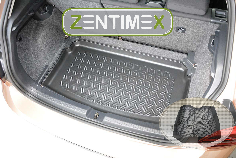 Klett-Netz für Volkswagen Polo Trendline 6 AW Z335486 Gerippte Kofferraumwanne