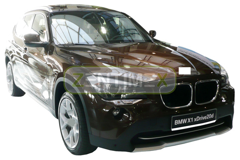 Geriffelte Kofferraumwanne für BMW X1 xdrive E84 Facelift Steilheck Geländewagen