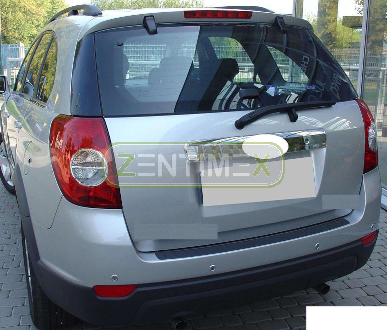 Geriffelte Kofferraumwanne für Chevrolet Captiva Allradantrieb Facelift SteilheD