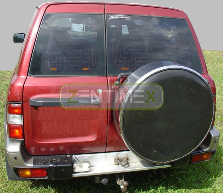 Geriffelte Kofferraumwanne für Nissan Patrol GR 2 Y61 Steilheck Geländewagen SUV