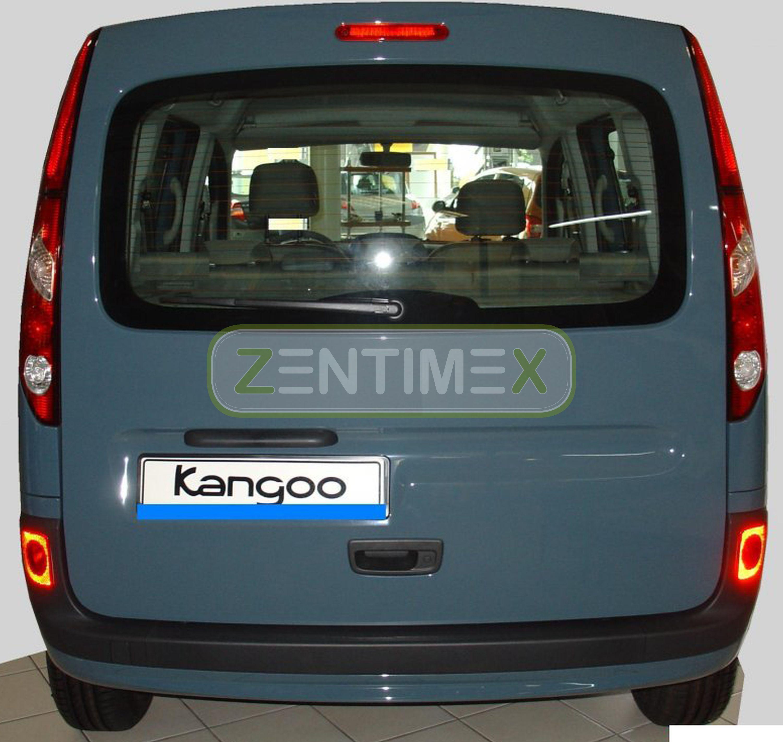 Geriffelte Kofferraumwanne für Renault Kangoo Expression 2 Typ W Hochdachkombi 2