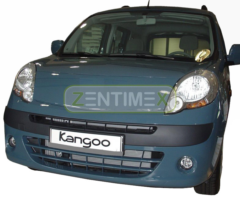 Geriffelte Kofferraumwanne für Renault Kangoo 2 Typ W Vor-Facelift Hochdachkombi