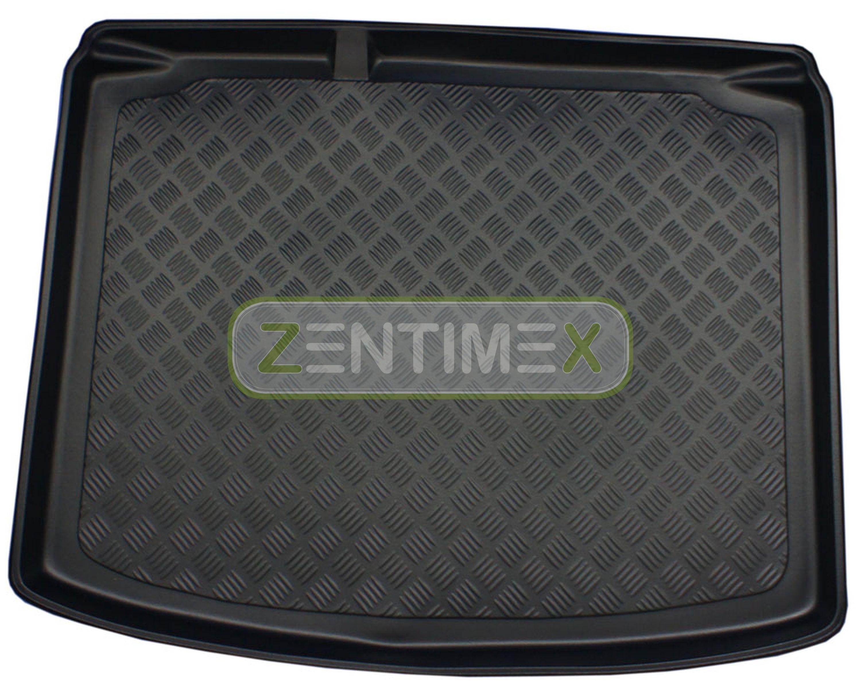 Zigrinati Tappetino Vasca per Seat Leon Cupra R 2 1p posteriore acciaio per Hatchback 5-tür