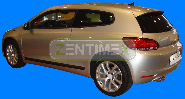 Scanalata Vasca baule bagagliaio per VW Volkswagen Scirocco GTS 3 Coupé Coupe 3D