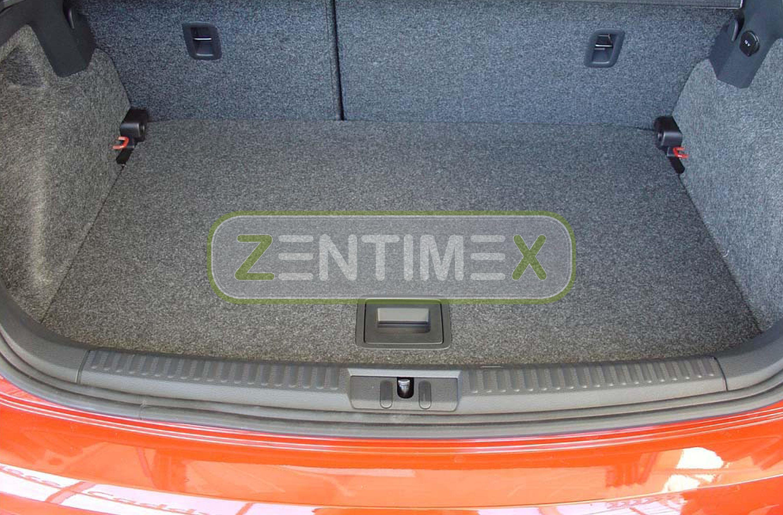 Geriffelte Kofferraumwanne für Volkswagen Polo 6C Schrägheck Hatchback 3-türer38