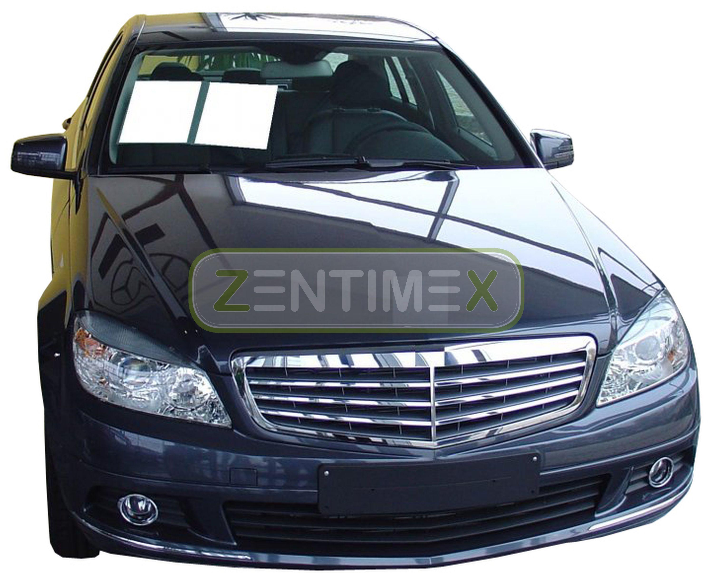 Estera de arranque corrugado forro De Tronco Para Mercedes C-Class W204 W 204 Sedan//Maletero 31