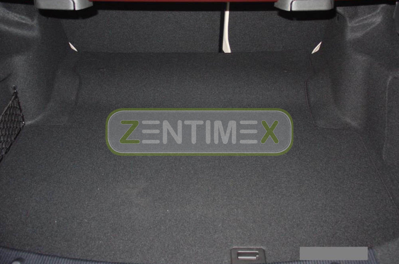 Geriffelte Kofferraumwanne für Mercedes C-Klasse W204 W 204 Limousine Stufenhe3F