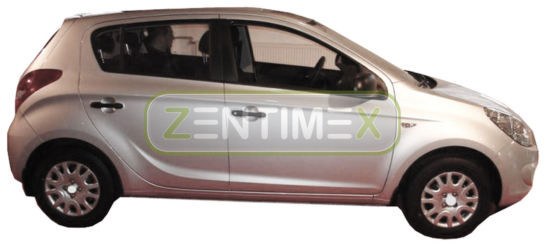 Geriffelte Kofferraumwanne für Hyundai i20 i 20 Classic 1 PB Schrägheck Hatchb2B