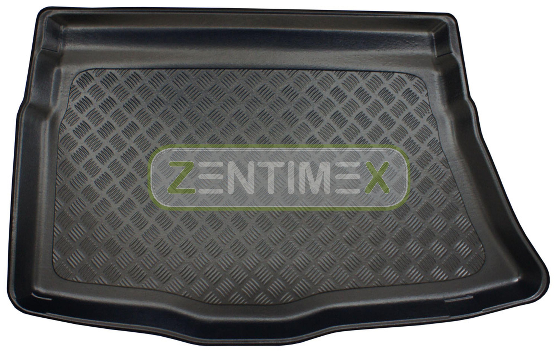 Zigrinati Tappetino Vasca Per Hyundai i30 2 posteriore acciaio per DG Hatchback 5-PORTE 252