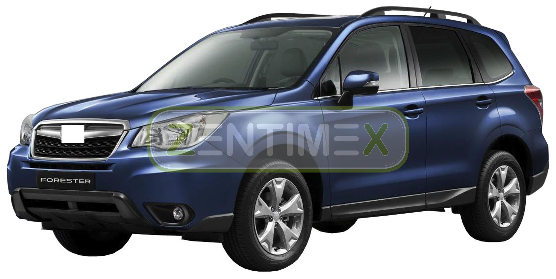 Geriffelte Kofferraumwanne für Subaru Forester 4 SJ Steilheck Geländewagen SUV 5