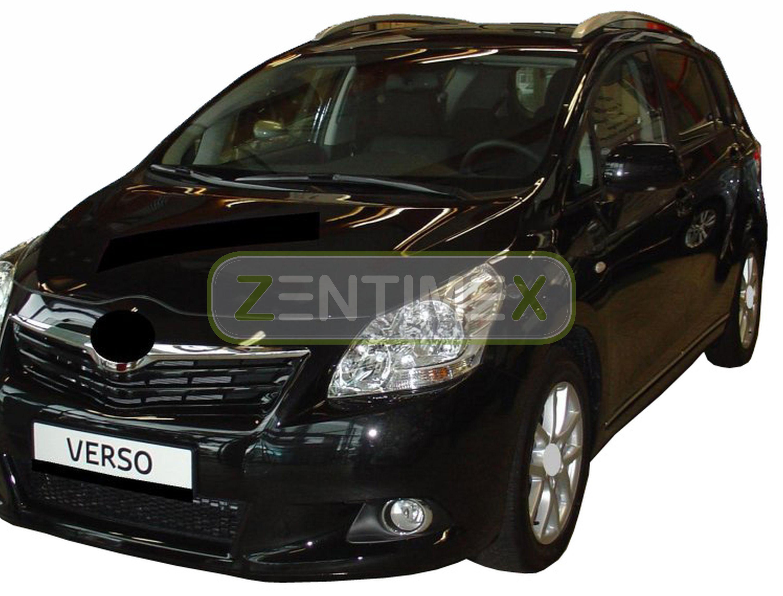 Geriffelte Kofferraumwanne für Toyota Verso Comfort Van Kombi 5-türer 2009-7Sit