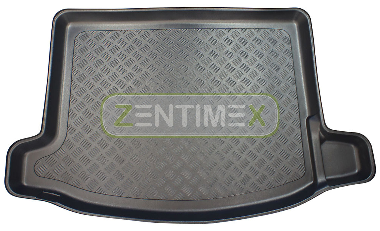 Geriffelte Kofferraumwanne für Honda Civic 9 Facelift Schrägheck Hatchback 5-tü0